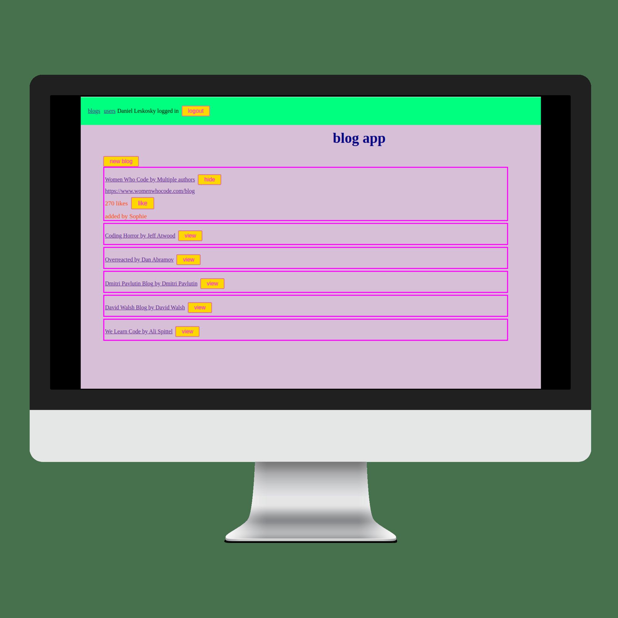 Blog List App