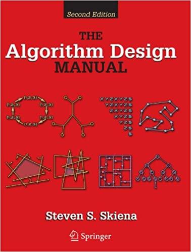 """""""Algorithm Design Manual"""" book cover"""