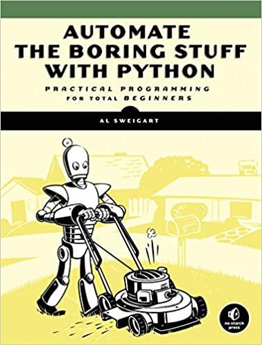 """Automate the Boring Stuff"" book cover"