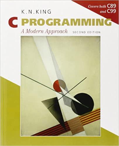 """C Programming"" book cover"