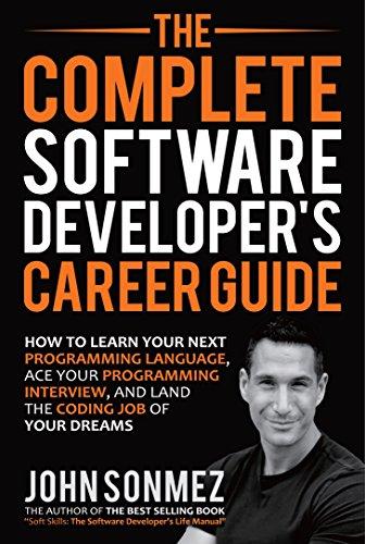 """Software Developer's Career Guide"" book cover"