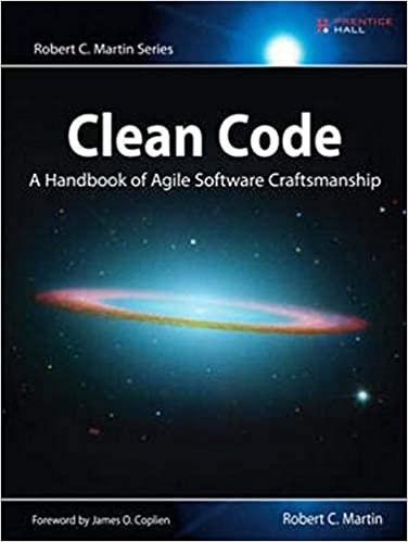 """""""Clean Code"""" book cover"""