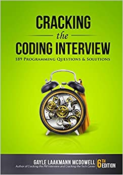 """""""Cracking the Coding Interview"""" book cover"""