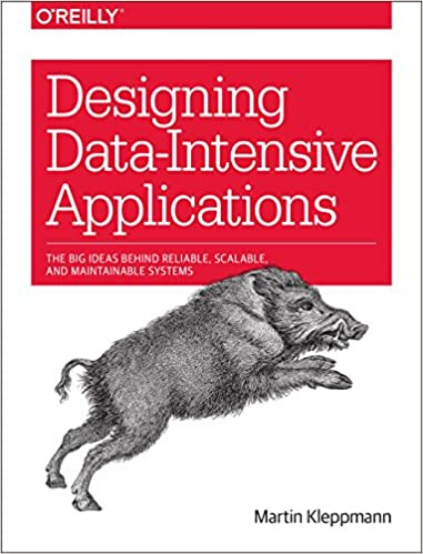 """""""Designing Data-Intensive Applications"""" book cover"""