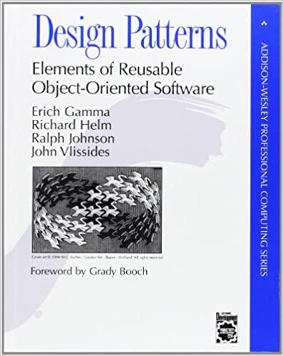 """Design Patterns"" book cover"
