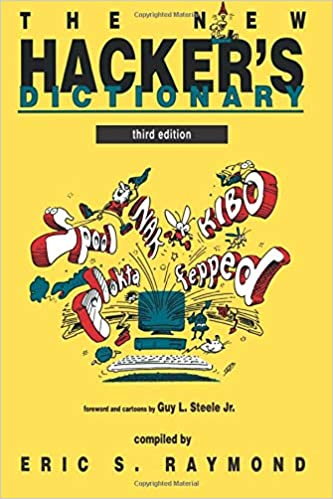 """""""The New Hacker's Dictionary"""" book cover"""