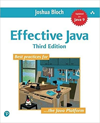 """""""Effective Java"""" book cover"""
