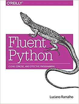"""""""Fluent Python"""" book cover"""