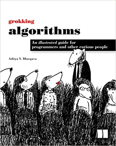 """Grokking Algorithms"" book cover"