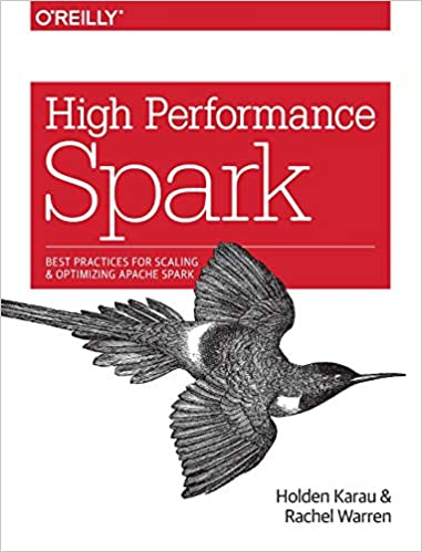 """""""High Performance Spark"""" book cover"""
