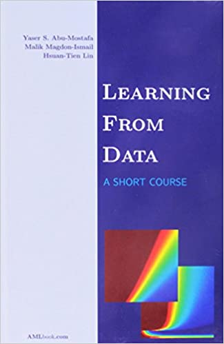"""""""Learning from Data"""" book cover"""