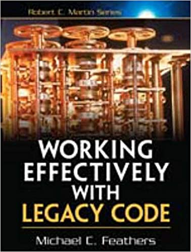 """""""Working Effectively with Legacy Code"""" book cover"""