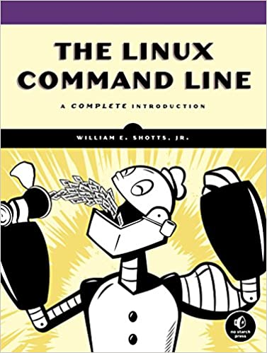 """""""Linux Command Line"""" book cover"""