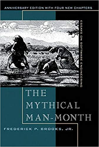 """""""Mythical Man-Month"""" book cover"""