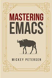 """""""Mastering Emacs"""" book cover"""