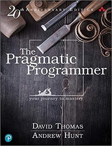"""Pragmatic Programmer"" book cover"