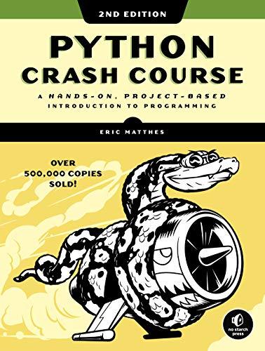 """""""Python Crash Course"""" book cover"""