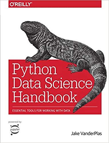 """Python Data Science Handbook"" book cover"