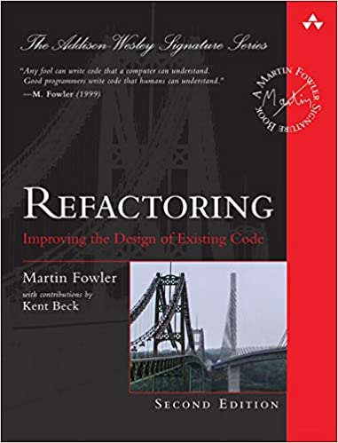 """""""Refactoring"""" book cover"""