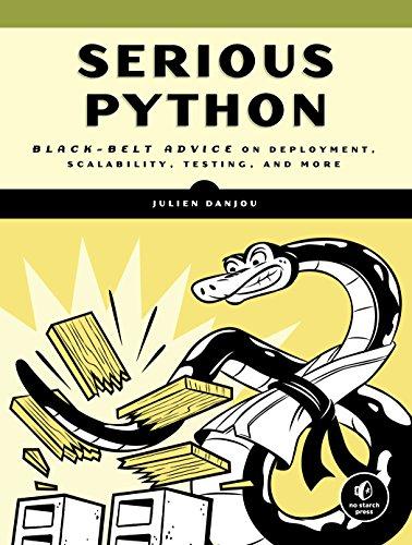 """""""Serious Python"""" book cover"""
