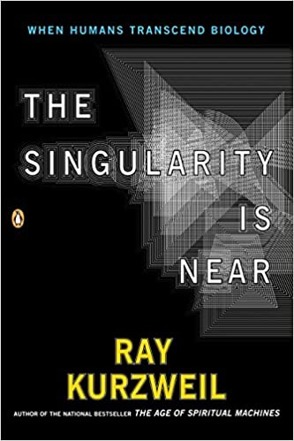 """""""The Singularity Is Near"""" book cover"""