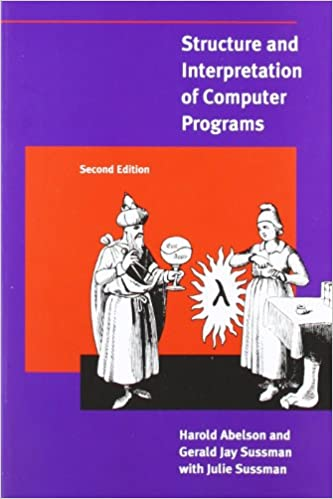 """""""Structure and Interpretation of Computer Programs"""" book cover"""