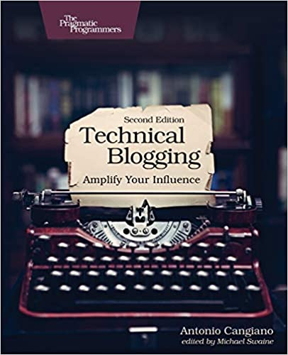 """Technical Blogging"" book cover"